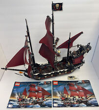 Lego Pirates of the Caribbean Queen Anne's Revenge (4195) Complete+Instructions