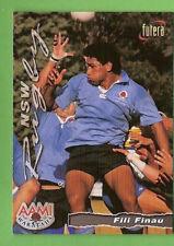 1996 RUGBY UNION  CARD #58 FILI FINAU, WARATAHS