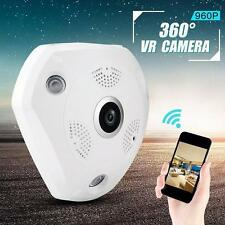 Wifi Ip Camera Onvif Panoramic Fisheye 360 Degree 1.3Mp Hd Dome Network Camera