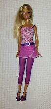 Barbie Doll Outfit Shoes Purple Pink 1999 Jointed Legs Nice Long Hair Mattel