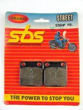 SBS Brake Pad Set Ceramic 536HF [VD120] Front Honda Kawasaki Suzuki Yamaha NEW