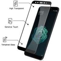 Noziroh Crystal Vetro Temperato Pellicola 9H Per Xiaomi Mi A2 Mi6X Curvo 5D Full