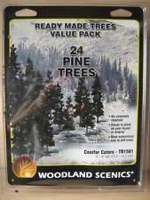 N/HO- Woodland Scenics - ref.TR1581 - 24 pinos (10,2 - 15,2 cm)