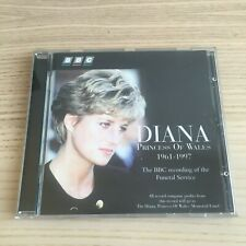 Diana Princess Of Wales - The BBC Recording Of The Funeral Service - CD 1997