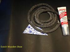 "Gasket Kit for Lennox Whitfield Pellet Stove 3/4"" Dia. x 7' #  26M81 Plus Cement"
