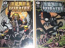 19 Dark Horse comics NM Aliens versus Predator War Terminator 1Tarzan Godzilla 1