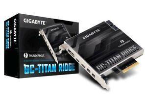 GigabyteG C-TitanRidge (v2.0) Thunderbolt 3 USB-C 3.2 flashed Mac Pro Hackintosh