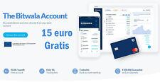 15 € gratis su Bitwala banca in app tedesca con carta e iban