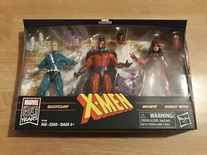 Marvel Legends Family Matters Pack - Quicksilver Magneto Scarlet Witch - New