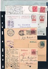 Belgica. Conjunto 8 piezas historia Postal