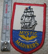 New rare Mystic mariners Ct sew on patch,clipper ship,boat,nautical
