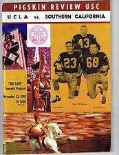 1963  USC vs UCLA Football Program NCAA