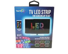 Tzumi Aura LED TV Led Strip 6.5' w/ Remote Control For TV PC Moonlight Mood