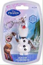 NIB Sakar Frozen Olaf USB 8GB Flash Drive Great Stocking Stuffer MSRP $24.99