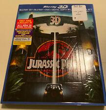 Jurassic Park 3D (Blu-ray/Dvd, 2013, 3-Disc Set)