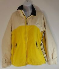 Roxy X Series Women's Winter Snowboarding Jacket, Size Medium Yellow