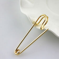 3dce532ea90a2 large gold safety pin products for sale   eBay