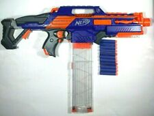 Nerf Fully Automatic Motorized 'RAPIDSTRIKE' CS-18 + Clear Magazine & Darts-2012