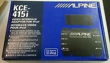 Alpine Apple iPod Video Interface Adapter KCE-415i