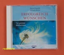 Erfolgreich wünschen - Vier geleitete Meditationen Franckh / Merten KOHA CD OVP