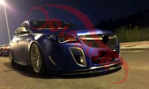 Refit Front Bumper Grille ABS Paint Gloss Black For Buick Regal GS 2014-2016