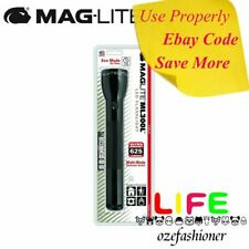 Maglite ML300L 3-Cell D LED Flashlight (Black)