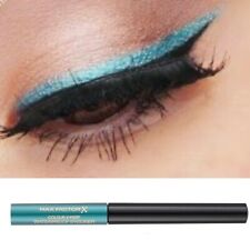 Max Factor Turquoise Blue Liquid Eyeliner Waterproof - Metallic Turquoise 04