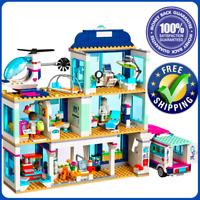 Heartlake Park City Friends Lego accessory Hospital 932pcs Cafe 3061 Girl Build
