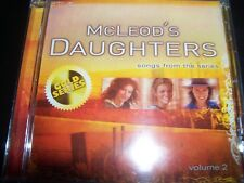 Mcleods Daughters CD Rare Soundtrack Volume 2 Songs From The TV Series - NEW