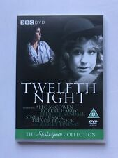 NEW Twelfth Night dvd Trevor Peacock BBC Shakespeare Collection 1981 RARE Film