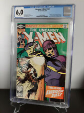 Uncanny X-Men #142 CGC 6.0 1981 2005129009 FREE SHIPPING Wolverine Sentinel
