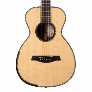 Maestro Guitars Private Collection Temasek Bearclaw Spruce / Madagascar Rosewood