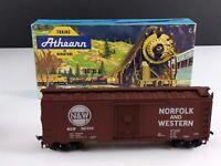 Athearn 1210 Norfolk and Western 40' Steel Box Car N&W 361508 HO Scale