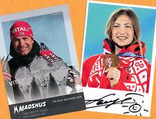 Ole Einar Björndalen-Darya Domracheva (3) - 2 TOP AK pictures + Photo + Ski AK