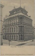 c1905 Savings Bank building Rochester New York NY postcard view