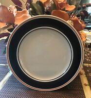 """Newcor Storneware Satellite Cobalt 188 Dinner Plates 10 5/8"""" Set of 3"""