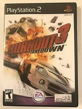 Burnout 3 Takedown - Playstation 2 - Replacement Case - No Game
