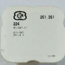 Ruota secondi  - Second wheel - (Ref. 224) CV- ETA 251 251 = 251 272 = 251 262