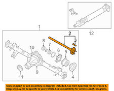 NISSAN OEM 05-15 Xterra Rear-Axle Shafts 38162EB10D