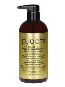 Pura D'or / Dor Gold Label Anti Hair Loss Shampoo - Hair Growth Treatment