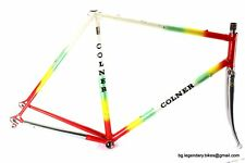 VINTAGE EROICA Race bike COLNER Frame SET COLUMBUS TUBES lugged Steel Frameset