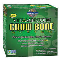 Garden of Life Vitamin Code Grow Bone System 2x120 VEGETARIAN CAPSULES