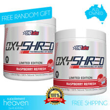 EHPlabs Oxyshred Raspberry Refresh Twin Pack 60 Serves Thermogenic Fat Burning