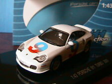 PORSCHE 911 996 TURBO #9 2000 DRIVING SCHOOL WHITE KDW 711 COLLECTIONS 1/43