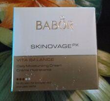 Babor Skinovage PX Vita Balance Daily Moisturizing Cream 50 ml NEW IN BOX