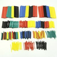 328Pcs 8 Sizes 2:1 Assorted Heat Shrink Tubing Tube Wrap Sleeve Wire Cable Kit