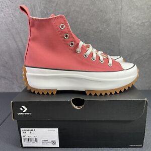 Converse Run Star Hike Terracotta Pink Size 9 Womens Sneaker Shoes