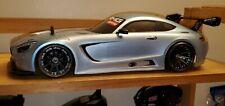 1/10 Rc Painted Body Mercedez Benz AMG for Tamiya TT02