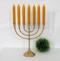 Menora Messing Antik Menorah Kerzenleuchter Kerzenständer 7 Kerzen Davidleuchter