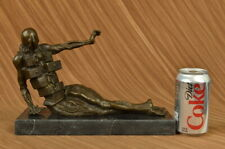 Collectible Statue bronze sculpture Abstract Rare Salvador Dali Elegant Woman